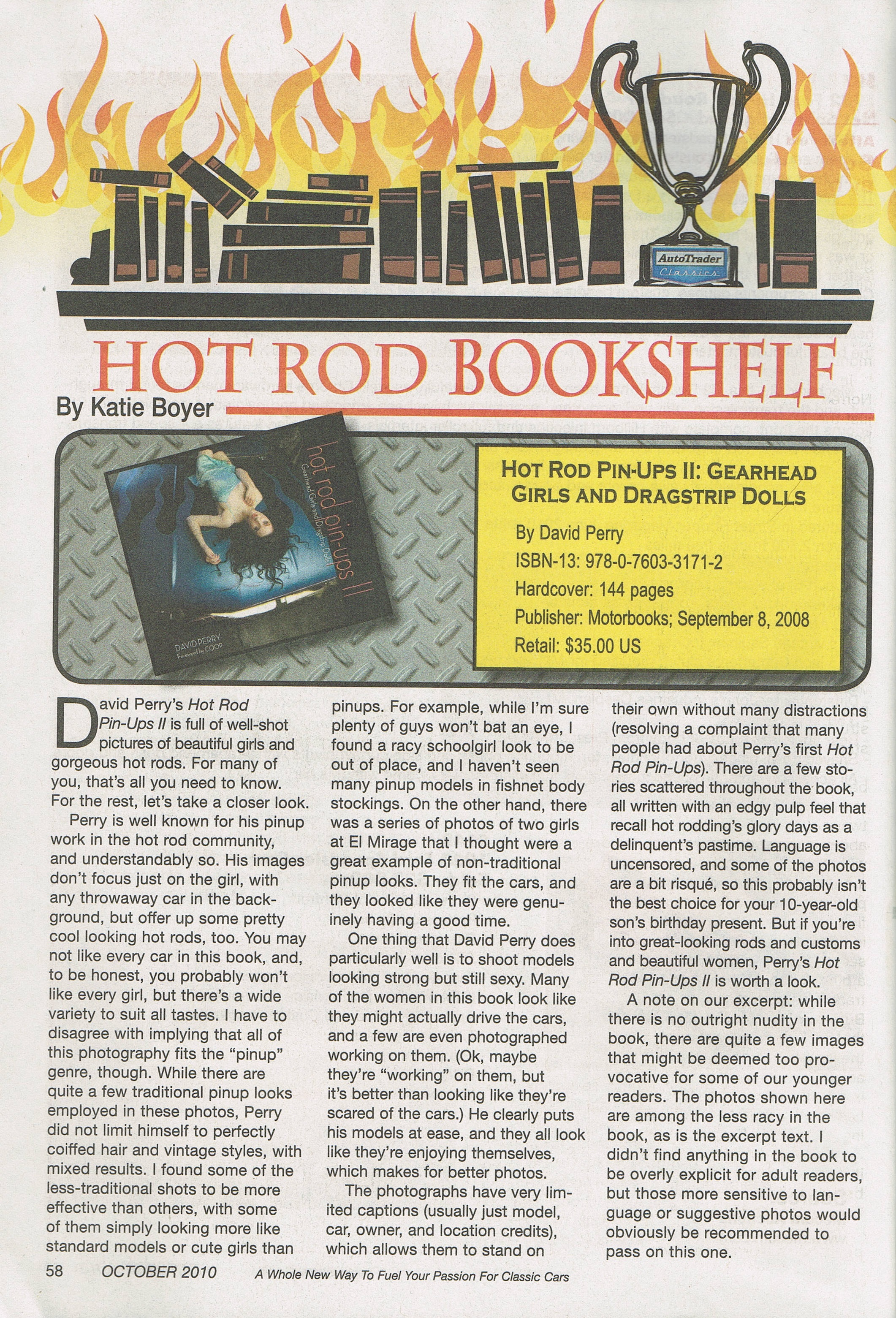Kustoms and Hot Rods Magazine - Book Review - Hot Rod Pinups II